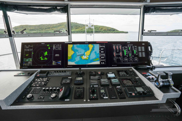 Grey Wolf Long Range Boat Charter Upper Helm