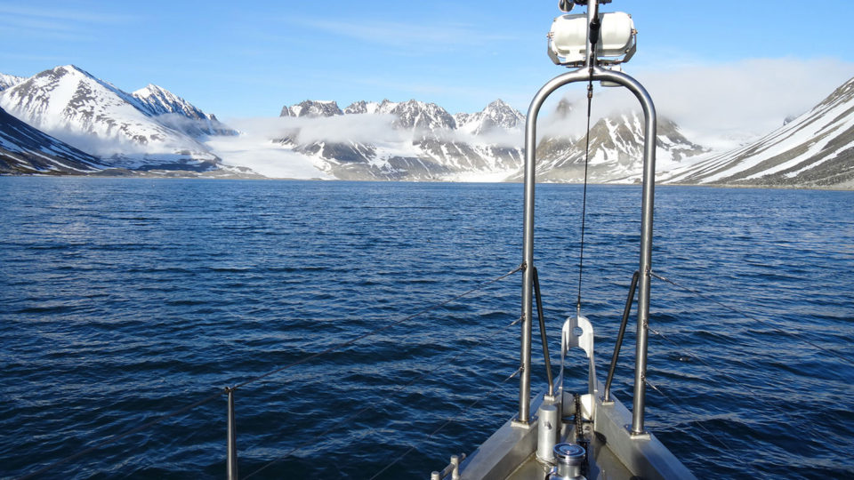 Approaching Svalbard Bay