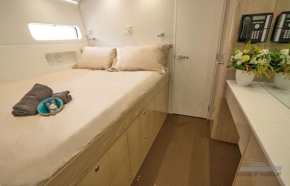 Grey Wolf Long Range Boat Charter Guest Cabin