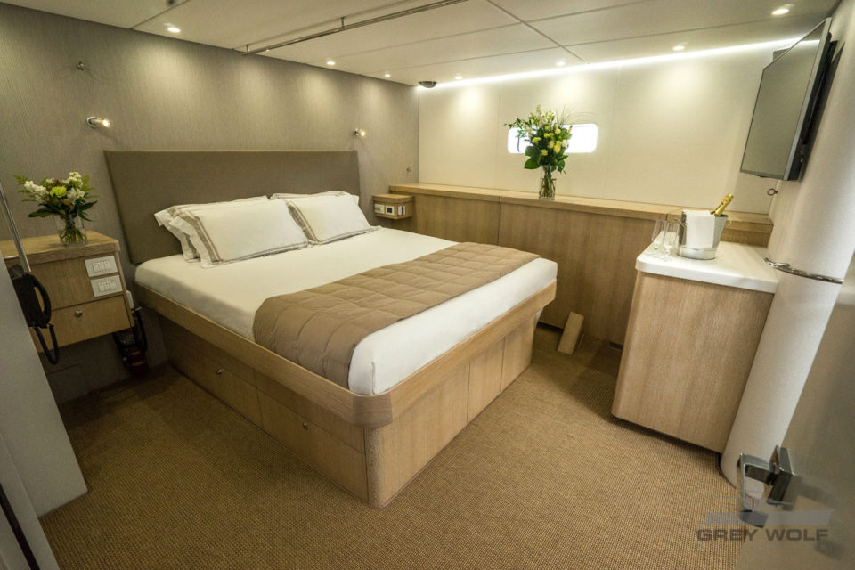 Grey Wolf Long Range Boat Charter Master Cabin